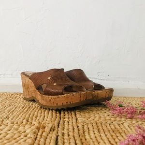 Sofft - Brown Wedges